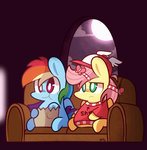 Watching TV by MACKINN7