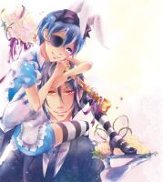 Ciel and Sebastian by Namirou