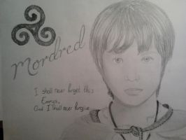 The Young Mordred by WhouffleJohnlock