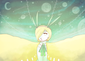 im looking up for my star girl by tinyfrou