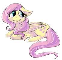 Fluttershy by Moo-sers