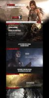 Tomb raider Website ReDesign by Yuni-style