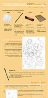 LineArt Manga Tutorial Steps by Sakon04