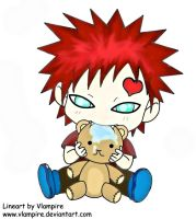 CHIBI Gaara by doll-fin-chick