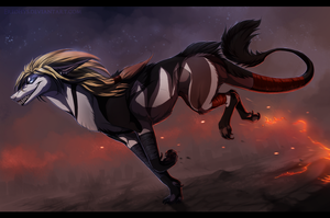 Embers - Art Trade. by Eredhys