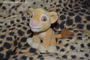 Baby Simba plush - TLK by MoondragonEismond
