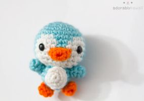 blue penguin 2 by tinyowlknits
