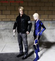 Jill and Leon by MasterCyclonis1