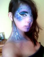 Mermaid make up Maquillaje sirena by Arisusandasu