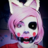 Mangle Makeup Test by Thesuperninjax