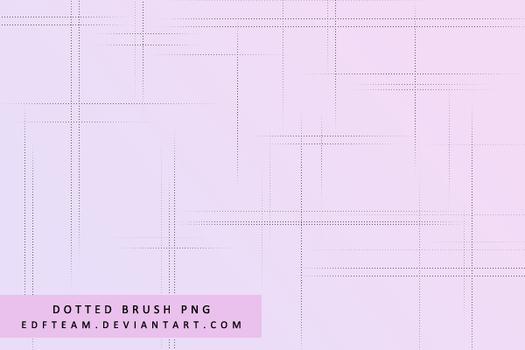 Dotted Brush PNG by EDFTeam