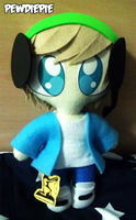 Pewdie Plushie by Arkeresia