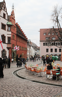 square in Freiburg by re-archi