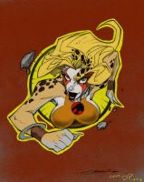 Cheetara by: Steven Sanchez Colored by Icecat13
