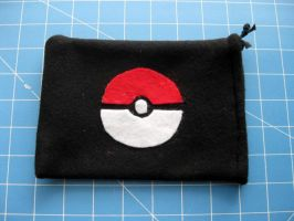 DS Carrying Case - Pokeball 1 by PaperCadence
