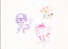Chibis by dancefever92