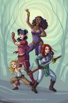 Rat Queens by merriya