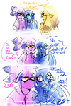 SQUID SIBS? by ShinyMeowstic
