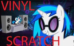 ERB of MLP TC 1.1: Vinyl Scratch by enigmaMystere
