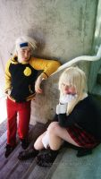 Soul Eater - Soul and Maka by Rose-Curel