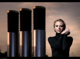 - chimney girl - by SaschaHuettenhain