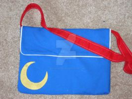 SM Laptop Bag - Front by BlackKnightress210