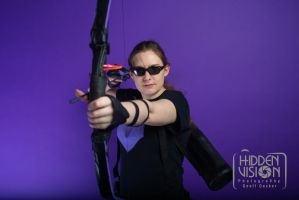 Hawkeye Cosplay pic 2 by SabrePanther