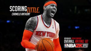 Carmelo Anthnoy Scoring Tittle - NBA2K15 by EsegaGraphic