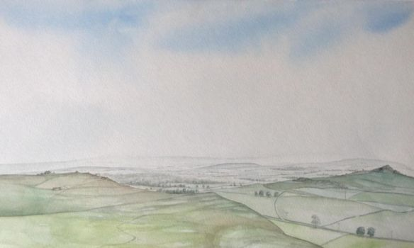 Extensive landscape in Mid Wales by DonStubbs