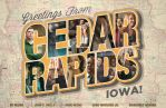 Cedar Rapids poster - MSCE Day 164 by billpyle