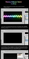 Glow Wallpaper Tutorial by Wallbanger6