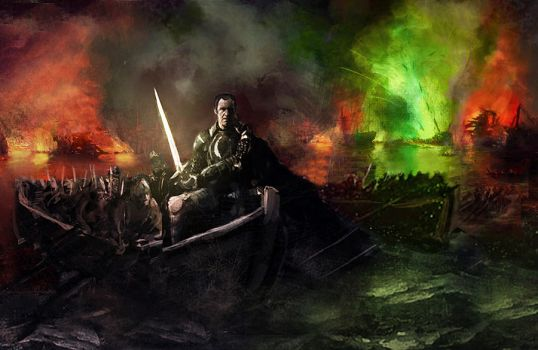 Stannis Baratheon WIP by WillHarrisArt