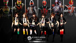 Kamen Rider girls by YorkeMaster