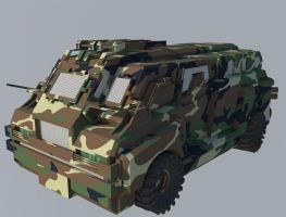 Armored Car by CHARGERLEVANI