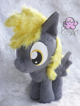 Derpy Hooves filly plush by PinkuArt