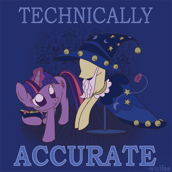 Technically Accurate by wulfae