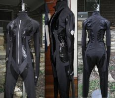 arkham city catwoman costume 3 views by hollymessinger