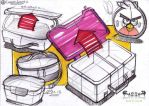 Day 4 - Lunch Boxes by Razza10