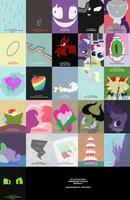 MLP Minimalist - Season 2 by anarchemitis