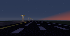 Minecraft - Interstate Sunset by Mamamia64