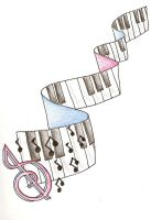 Piano Music Banner by Weisz3771