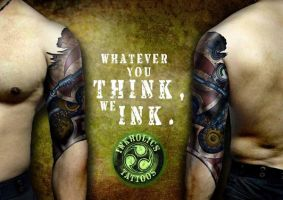 INKHOLICS TATTOO MAGAZINE AD 2 by ketology