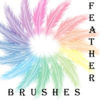 Feather Brushes by AttackTheMap