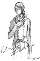 Claude Faustus by whitewestie13