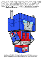 Cubeecraft - Ultra Magnus by CyberDrone