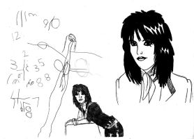 Joan Jett - Me and 3 year old by deanfenechanimations