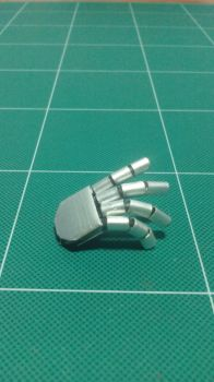 Cyberman step 5 hand 1 by SOCRAM13