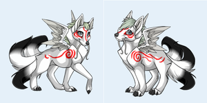 Ovipets Tattoo: Amaterasu by xSyphic