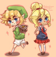 LOZ - Wind Waker School by MindlessFrappe