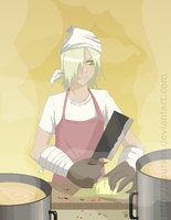 TTGL: Dinner's almost ready by saurien